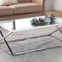 Eastham stainless coffee table - http://idealhomechoices.com/eastham-stainless-coffee-table/