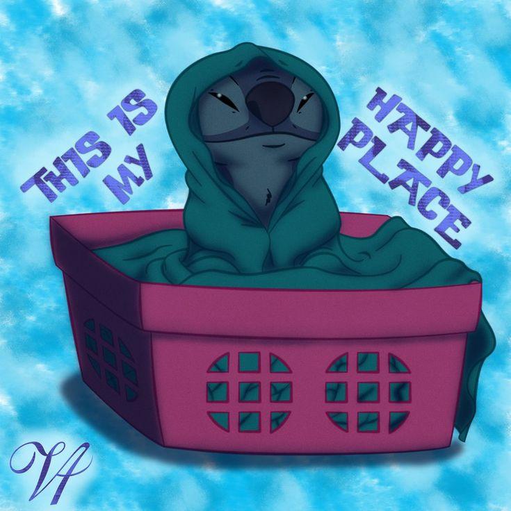 Stitch's Happy Place by ViridianVenus on DeviantArt