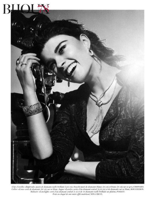 Crystal Renn & Adrien Sahores 2012 05 Vogue Paris Ph. Giampaolo Sgura