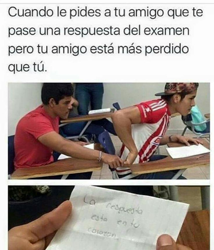 When you ask a friend to pass you a test answer but you friend is more lost than you: The answer is in your heart