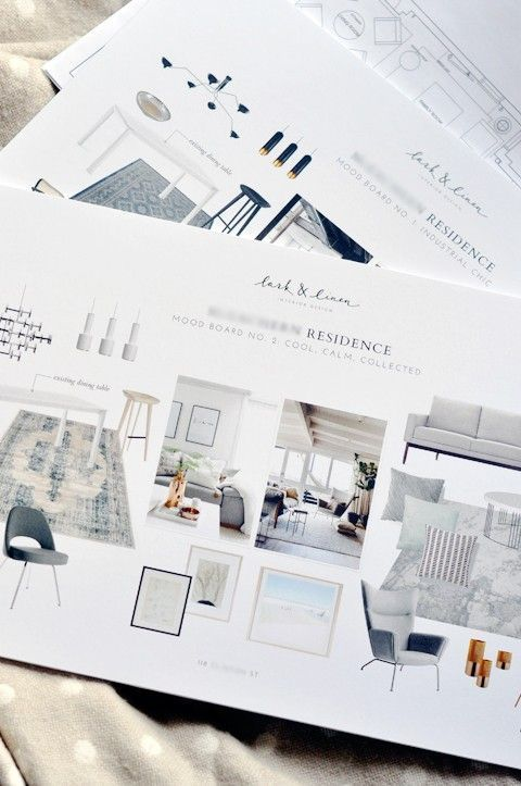 How To Create Interior Design Inspiration And Source Boards