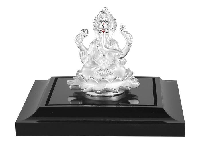 Ganapati, Ganesha, Zilver, India, Hindoeïsme