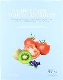 Portada del libro Comer para vencer al cáncer