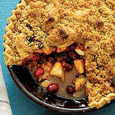 Apple-Cranberry-Currant Pie with French Topping.Desserts Recipe, Apple'S Cranberry'S Curr Pies, Apples Pies, Pies Recipe, Northern Lights, French Tops, Apples Recipe, Thanksgiving Desserts, Holiday Desserts