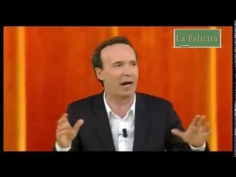 La Felicità è una Ricerca - Roberto Benigni - YouTube