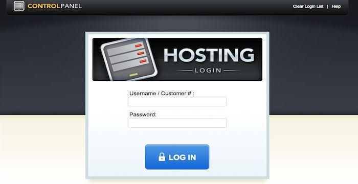 Secure Server Login