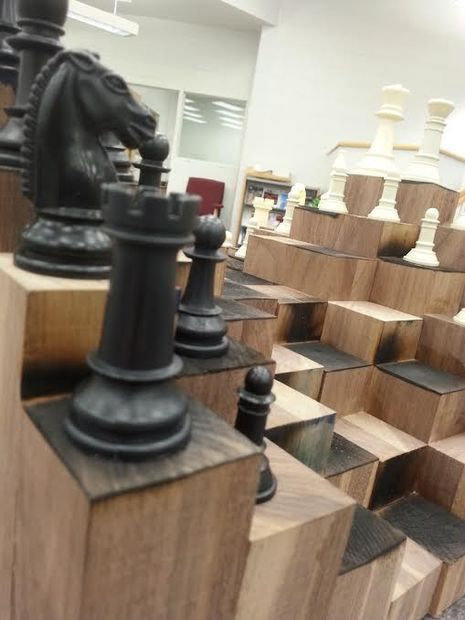 Best 25 3d chess ideas on pinterest chess game 3d the game of chess and woodworking how to - Multi level chess board ...
