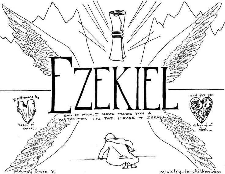 ezekiel dry bones coloring page - 26 best bible ezekiel and the valley of dry bones images