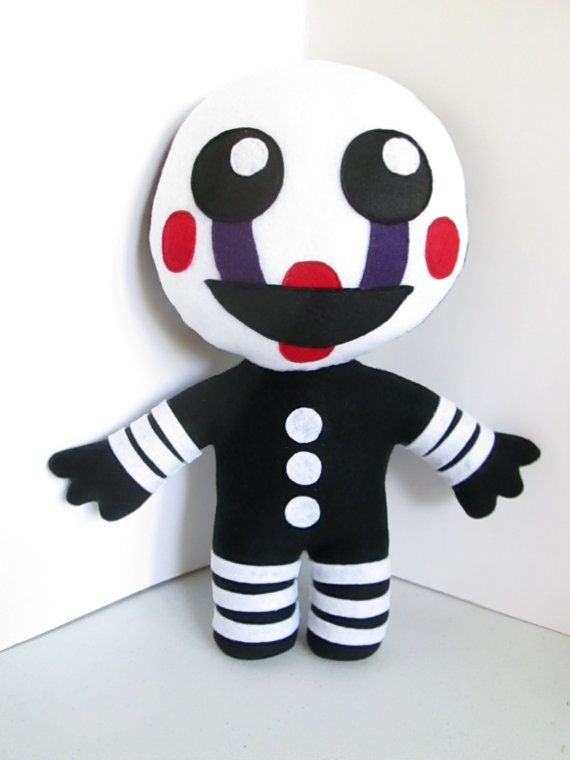 Marionette Plush Inspired by Five Nights at Freddy's (Unofficial) The Puppet Plush, FNAF Plush
