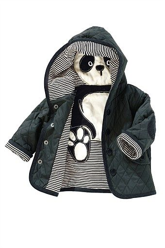 Newborn Clothing - Baby Clothes and Infantwear - Next Panda Jacket