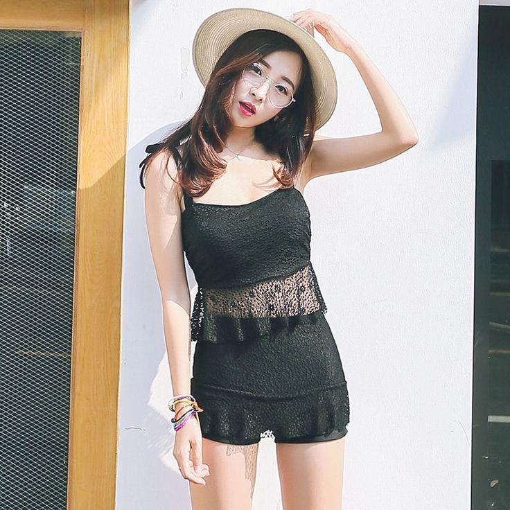 $22.10 (Buy here: https://alitems.com/g/1e8d114494ebda23ff8b16525dc3e8/?i=5&ulp=https%3A%2F%2Fwww.aliexpress.com%2Fitem%2FSouth-Korea-lady-split-boxer-swimsuit-swimsuit-sexy-lace-skirt-type-steel-support-conservative-spa-wholesale%2F32680238493.html ) Push Up Bikini 2016 Swimming Suit For Women Set Top Sexy Swim Badeanzug Costume Da Bagno Donna Biquinis Biquines Fatos Fato De for just $22.10