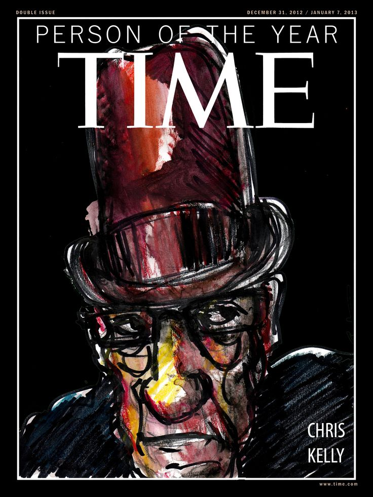 Sadly you won't see this cover this year. I too have written to the editors of Time Magazine letting them know as gently as possible, that I too am not available for the honour this year.