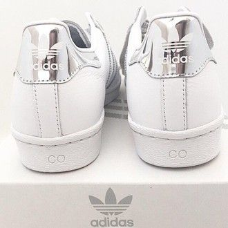 shoes special sneaker sneakers nice faboulos hipster swag aluminium adidas adidas shoes adidas superstars adidas originals superstar white silver weiß silber