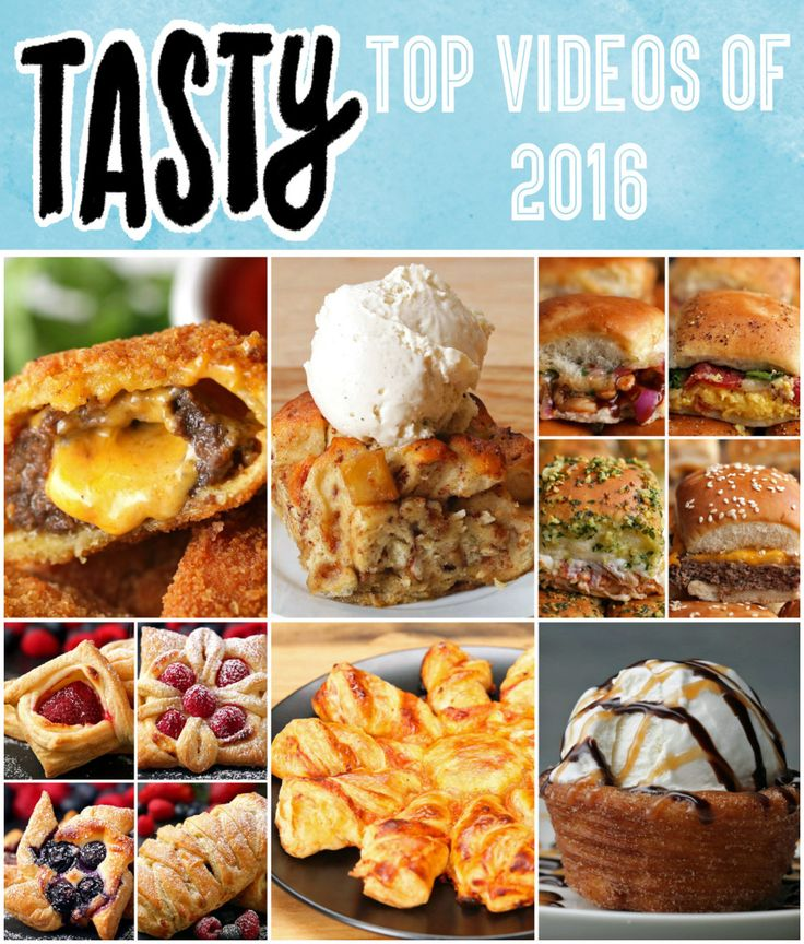 If You've Been Living Under A Rock, Here's Tasty's Top 10 Videos Of 2016 - the sliders 4 ways is especially a keeper!