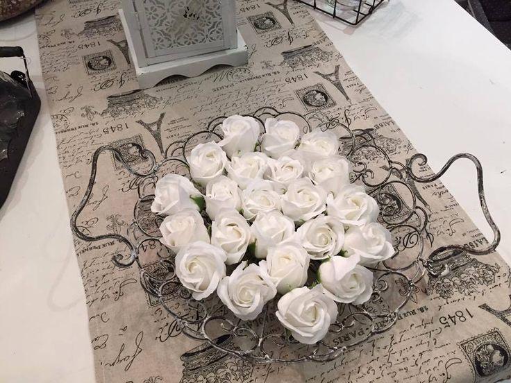Soap roses, use petals in bath