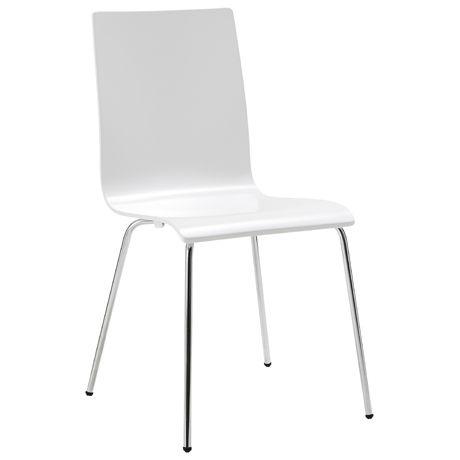 Apollo Dining Chair  White