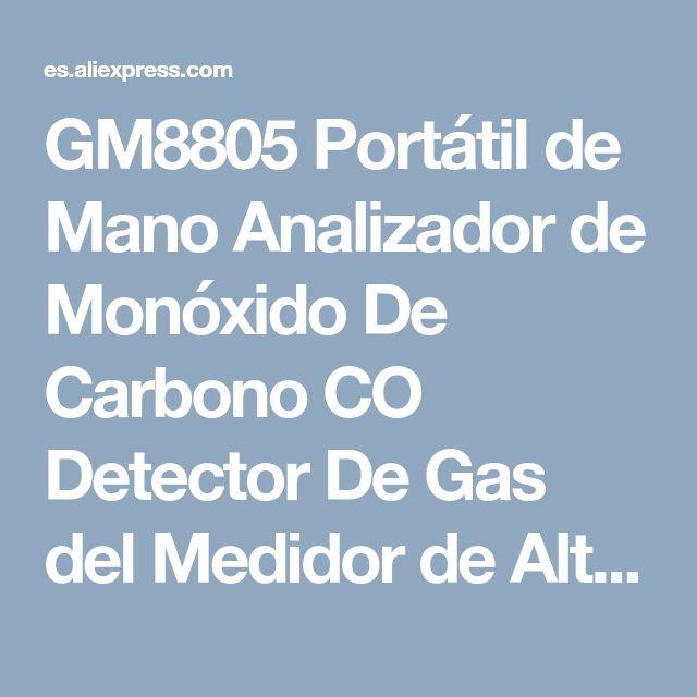 GM8805 Portátil de Mano Analizador de Monóxido De Carbono CO Detector De Gas del Medidor de Alta Precisión de Medición Gama 0 1000ppm detector de gas en Analizadores de Gas de Mejoras para el hogar en AliExpress.com   Alibaba Group