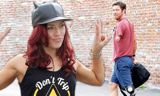 Back on track after spat, Noah and Sharna at DWTS rehearsals