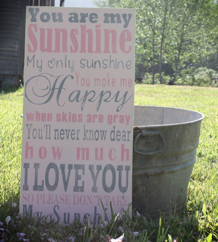 You Are My Sunshine Wall Decor 29 best nursery ideas images on pinterest | nursery ideas, baby
