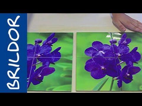 Cómo sublimar un mural de azulejos