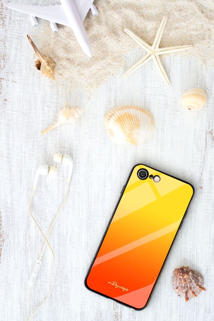Personalised iPhone case with gradient background