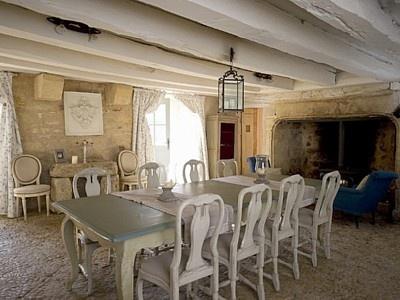 Informal dining room, Dordogne vacation home. Love