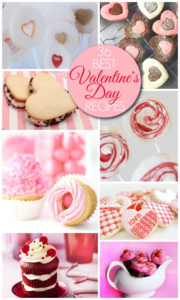 Amazing Valentine's Day desserts and treats - perfect for parties and as favors!