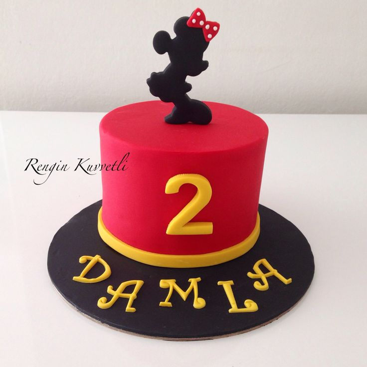 Minnie Mouse Pasta / Minnie Mouse Cake