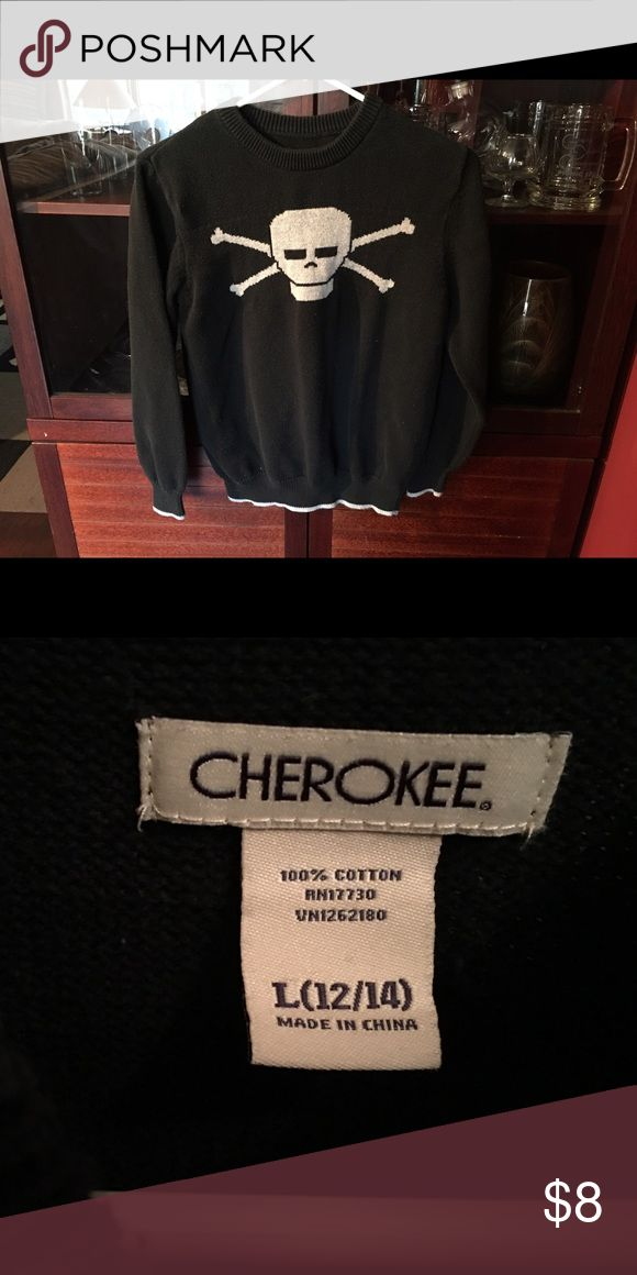 Cherokee brand boy's sweater Size 12-14 worn a few times Cherokee Shirts & Tops Sweaters