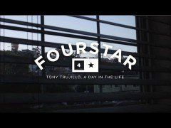 Fourstar's Day In The Life with Tony Trujillo - http://DAILYSKATETUBE.COM/fourstars-day-in-the-life-with-tony-trujillo/ - http://www.youtube.com/watch?v=64SK6SON1KU&feature=youtube_gdata  We decided to go extended play on Tony's Day in the Life snippet from the Crocodile Done Deal intro. Family man. Band leader. 'Boarder. TnT does it all. Ratt N' Roll! - FOURSTAR'S, life, tony, trujillo