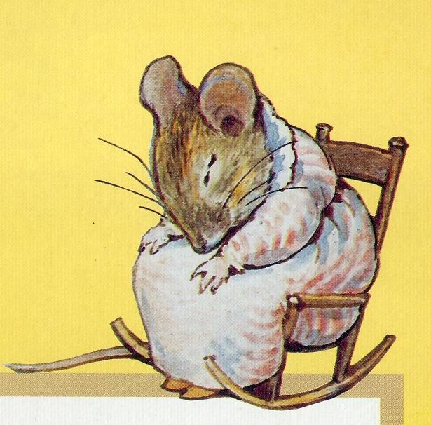 Beatrix Potter, my mom read these books to me every night before bed.