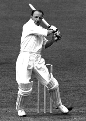 Sir Donald Bradman - The boy from Bowral. With a batting average of 99.9 he stands as the greatest batsman.