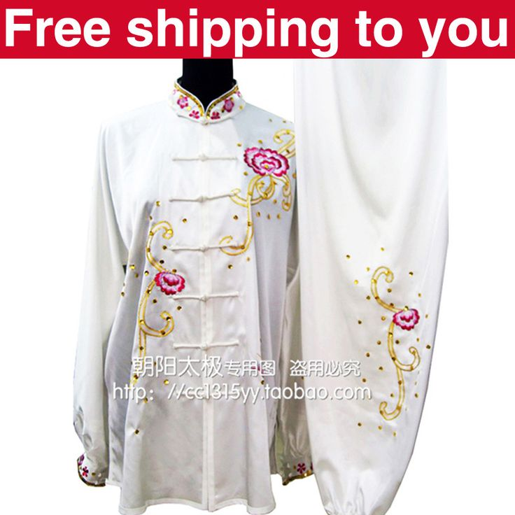 Customize Chinese Tai chi clothing taiji sword suit kungfu uniform wushu clothes embroidery for women children girl men boy kids // Price: $US $102.80 & FREE Shipping // #body #healthylife #fitness #body #activity #bodycare