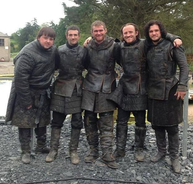 Game Of Thrones - on the set