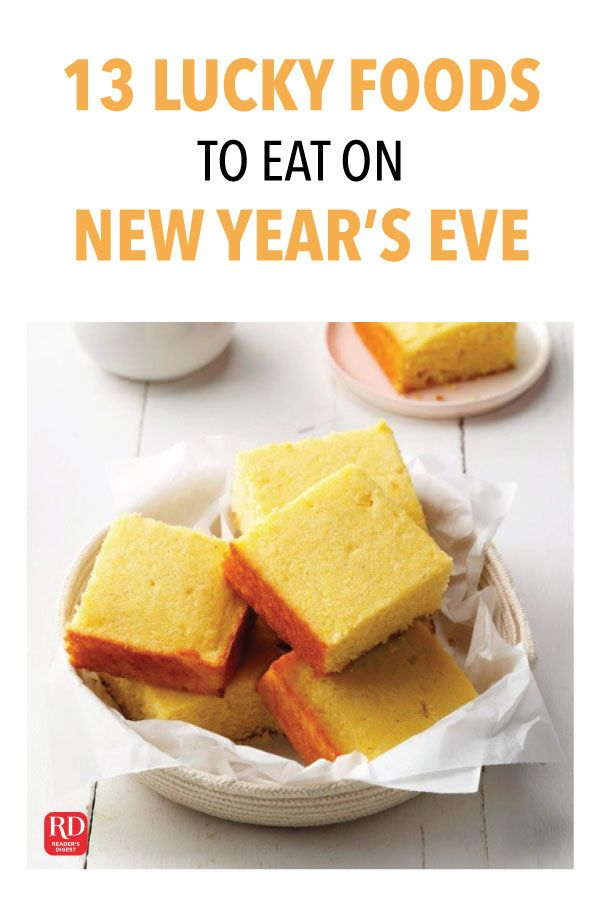 13 New Year S Eve Foods To Eat For Good Luck Lucky Food New Year S Eve Food Traditions New Years Eve Food