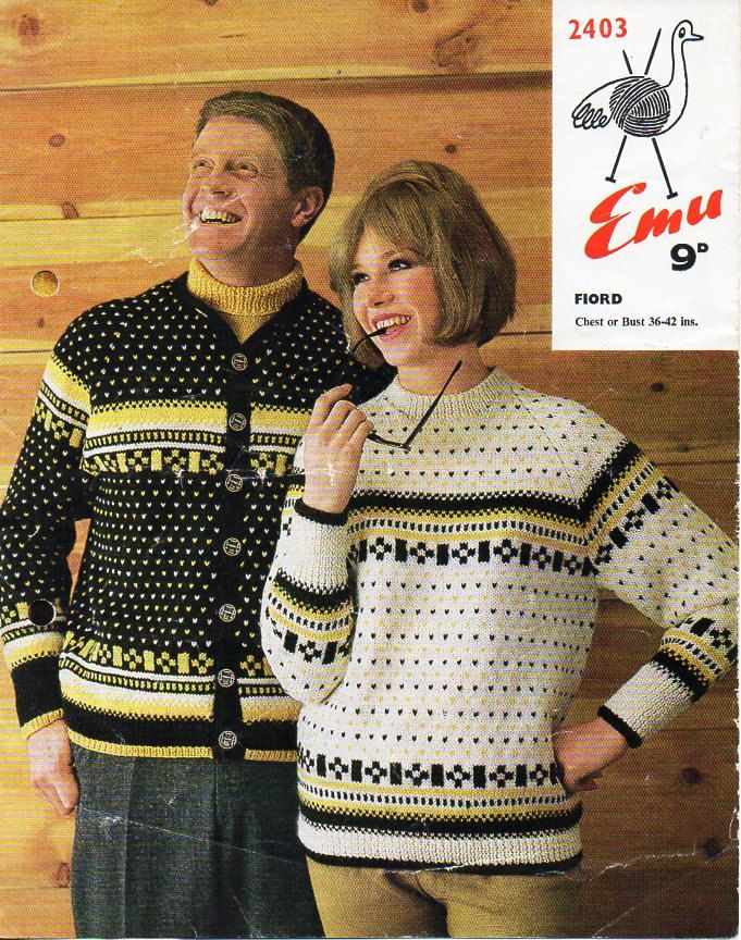 245 best Vintage Family & Unisex Knitting Patterns images on ...
