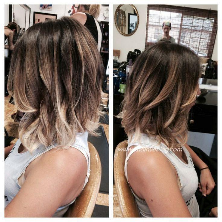 Ombre Hair Modellpreise 2017 Frisuren Mode Sac Kut Kesim Sac Sac Ve Guzellik