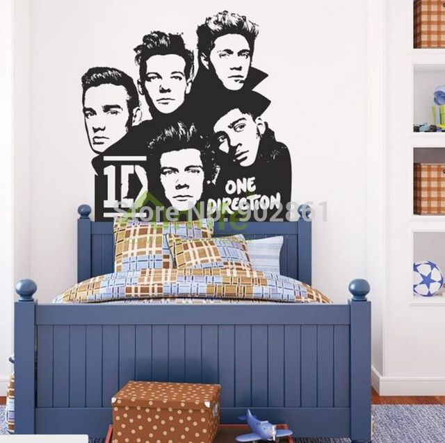 Funlife One Direction Wall Stickers Kids Decorative Bedroom Art Xcm Xin  Silver Wishing Tree Mirror Sticker Part 89
