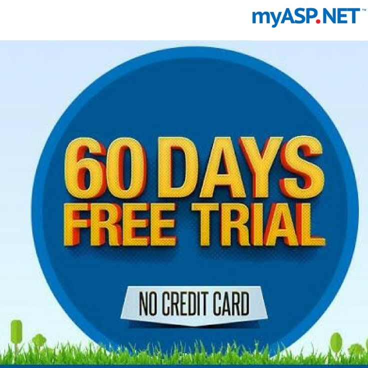 Start your 60 days risk-free trial with Instant Activation. Credit Card is not required. Superior Windows Hosting! 60 Days Free Trial on Windows Hosting with Instant Activation. Credit Card is not required.