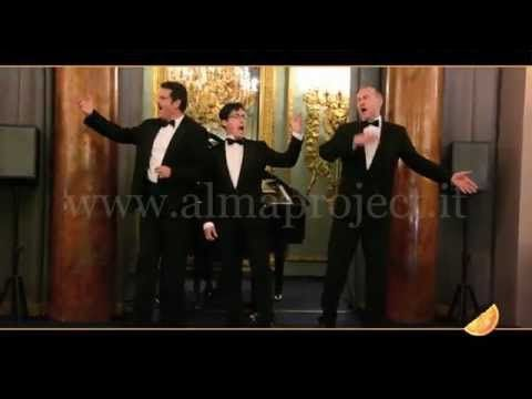 ALMA PROJECT - Three Tenors - La Donna E' Mobile - YouTube