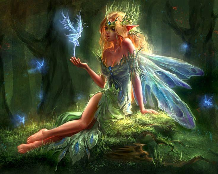 Forest Fae by Uildrim