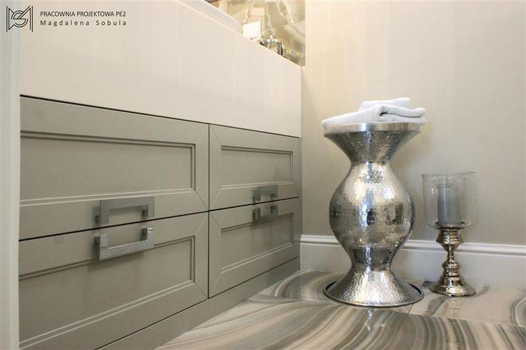 Bathroom by Magdalena Sobula (#pracowniaprojektowape2)