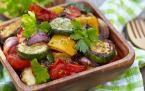 Légumes ensoleillés rôtis au four