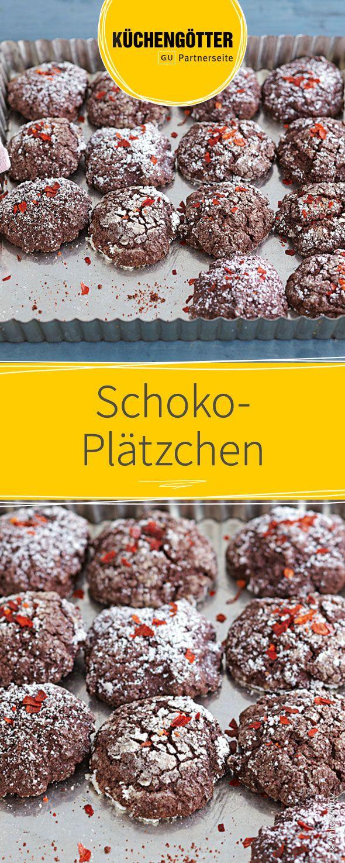 Rezept für Plätzchen zu Weihnachten: Schoko-Plätzchen