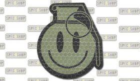 "Combat-ID ""Patch Happy Frag Grenade"" by Spec Shop"