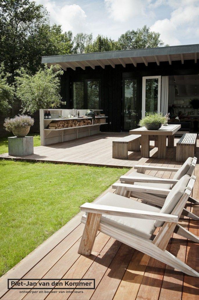 Timber outdoor furniture: Piet-Jan van den Kommer