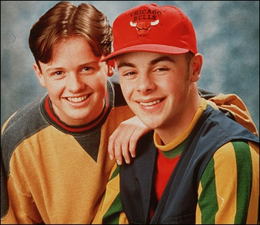 byker grove...when Ant and Dec were PJ and Duncan!
