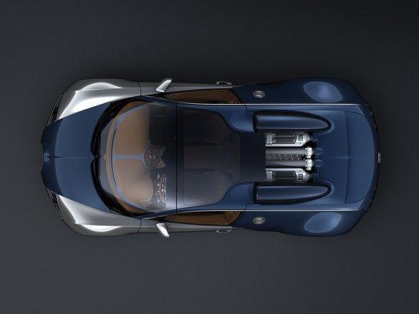 2009 Bugatti Veyron Sang Bleu Top View 588x441 2009 Bugatti Veyron Sang Bleu