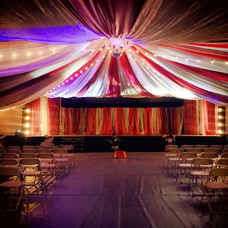 Circus Tent Church Event Decor