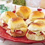Hawaiian Ham Sandwiches Recipe | MyRecipes.com